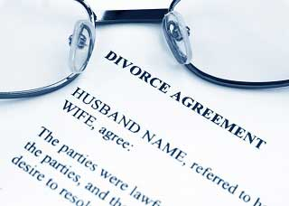 Image of a divorce agreement