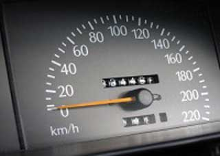 Image of a speedometer