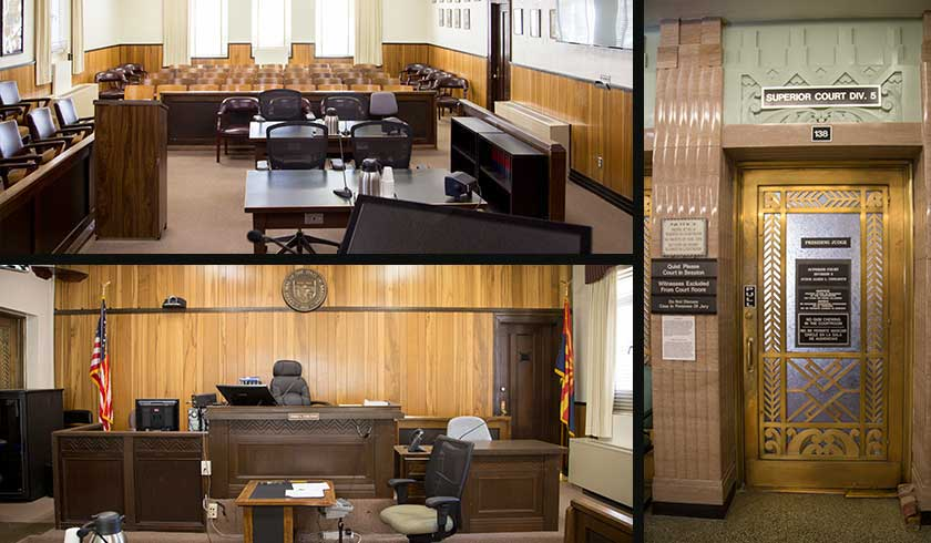 Cochise Superior Court Tour - Bisbee in the state of Arizona