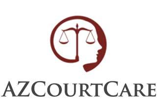 Image of the AZ Court Care mental health website logo