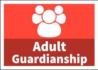 Button that directs to Adult Guardianship information