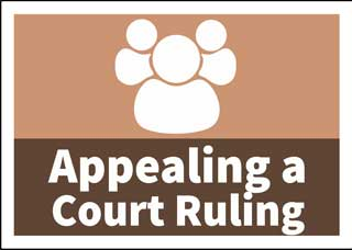 Appealing a Lower Jurisdiction Court ruling