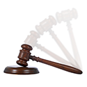 Moving gavel image