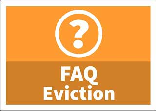 Eviction Frequently Asked Questions button