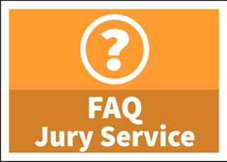 Button to frequently asked questions about jury service