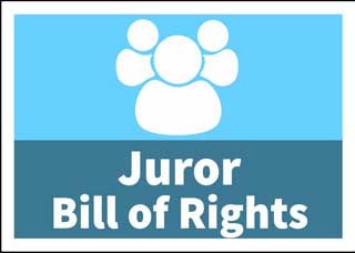 Button to juror bill of rights for Arizona
